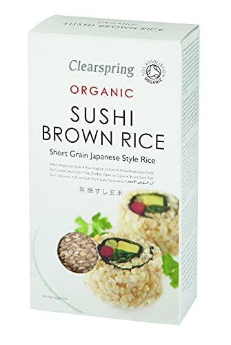 Clearspring Sushi brauner Reis 500g BIO