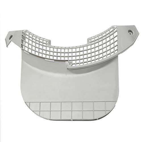 Funmit MCK49049101 Dryer Filter Guide Cover Housing Compatible with LG-Replaces 1464160,AH3534930,EA3534930