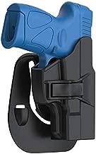 Taurus PT111 G2 G2C Holster, Tactical OWB Paddle Holster Also Fit Taurus Millennium G2C G2 G3 PT111 PT132 PT138 PT140 PT145 PT745(Not Pro) with Trigger Release Adjustable Cant, Right-Handed