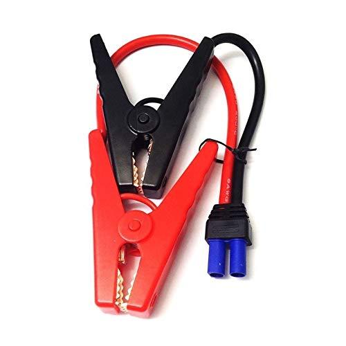 Lianlili Clips DE ALLIGADOR DE Cable DE Cable DE Cabo DE EC5 A Conector EC5 para BATERÍA DE Emergencia DE Emergencia DE 12 V HAP DE AUTRO DE Emergencia Porte