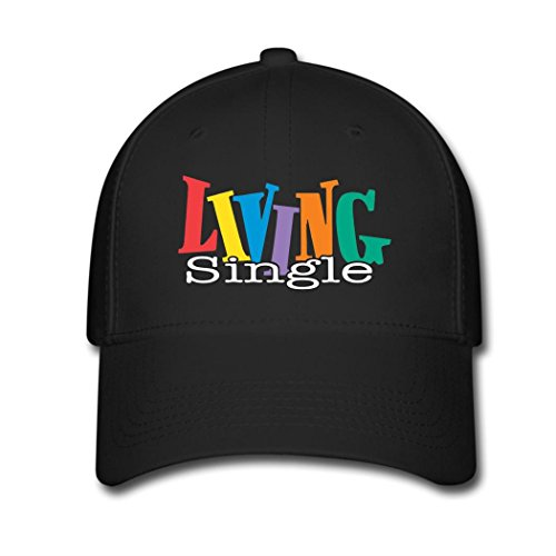 Kari Sports Fan Baseball Cap Living Single Logo Hip Hop Flat Hat