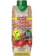 GAZPACHO ORGANICO & VEGANO de PAPILA de 330 ml. PACK de 12 unidades de 330 ml