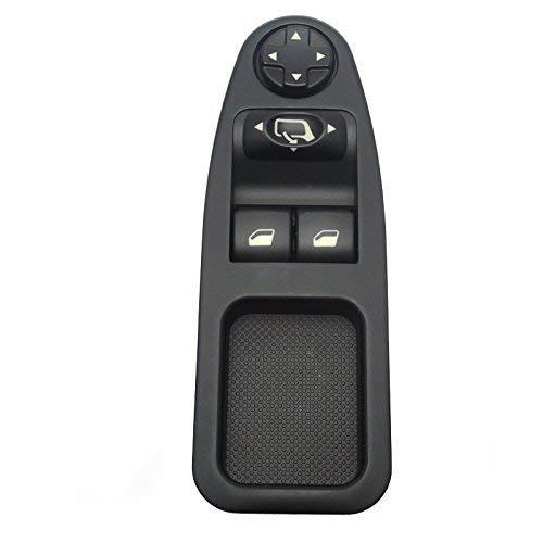 Interruptor de la ventana - 1 PC de Car Power Interruptor de la ventana principal, botón de control de la ventana adecuado para 6554.ZJ.