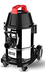 American MICRONIC AMI-VCD21-1600WDx- 21 Litre Stainless Steel Wet & Dry Vacuum Cleaner with Blower & HEPA Filter, 1600 Watts 100% Copper Motor 28 KPa Suction with Washable dust Bag (Red/Black/Steel),Designed by American Micronic Instruments, Inc . Lewes, DE, USA.,AMI-VCD21-1600WDx