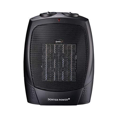 DONYER POWER 1500 Watt Portable Space Heaters Ceramic Space Heater with Adjustable Thermostat