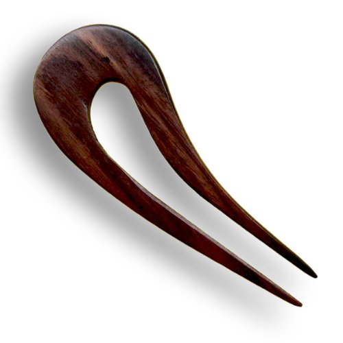 ISLAND PIERCINGS Haarnadel Handarbeit aus Holz HN077