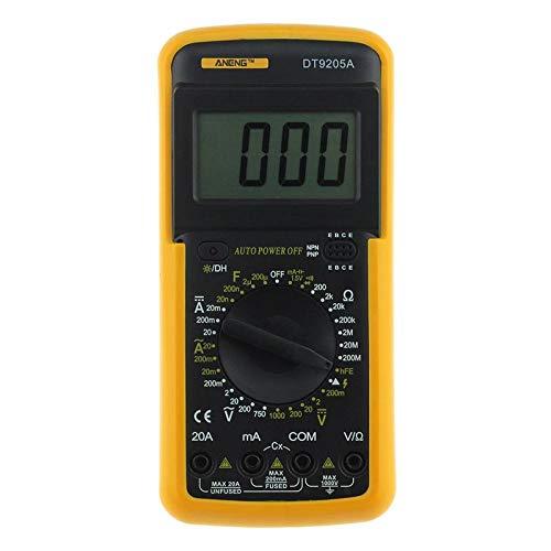 Fedus Basic Digital Multimeter LCD AC DC Measuring Voltage Current