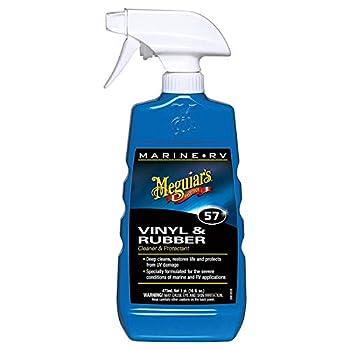 Meguiar s M5716SP Marine/RV Vinyl & Rubber Cleaner & Protectant 16 oz