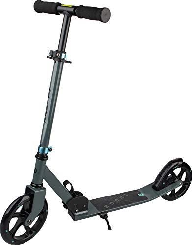 ARCORE Scout Patinete Plegable Scooter Ligero Durable 200 mm Ruedas de PU Un Clic Plegable Ajustable en Altura Kick Scooter (Gris)