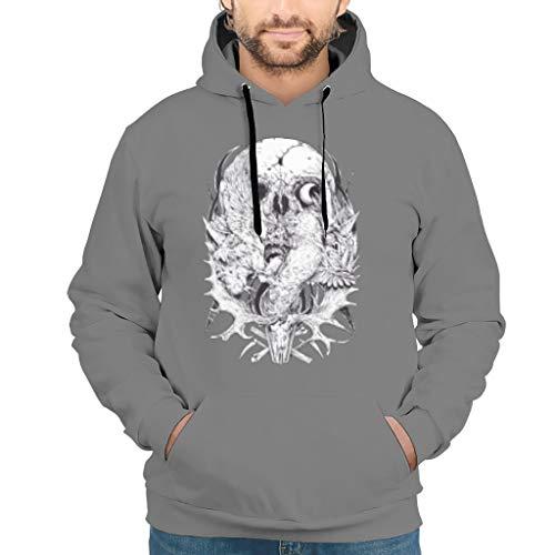 ANVPI schedel 3D print unisex jongens hoodie sweatshirts mode comfortabele trui met lange mouwen drawstring tassen S-5XL beste cadeau voor kinderen