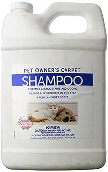 Kirby et Owners Foaming Carpet Shampoo White 128 Fl Oz