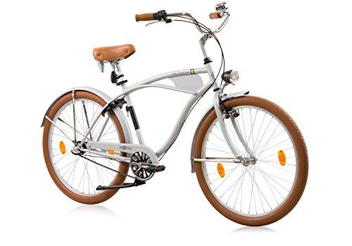 tretwerk DIREKT gute Räder Santa Monica Beachcruiser Herren 26 Zoll, Herren-Fahrrad 3 Gang Nabenschaltung