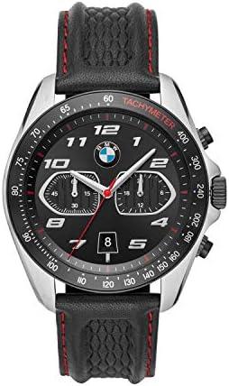 BMW Men's Three-Hand Stainless Steel Quartz Watch