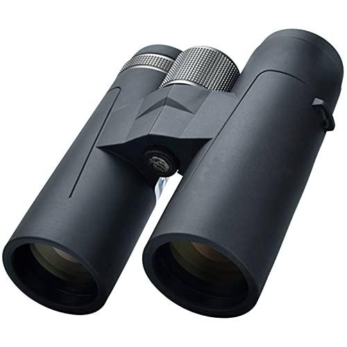YLJR Prismáticos de alta definición 8 x 42 10 x 42 ED lente Camping Hunting Scopes gran telescopio para prismáticos de excursión y viajes