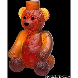Crystal Ritz Paris Teddy Large Amber 05467-1