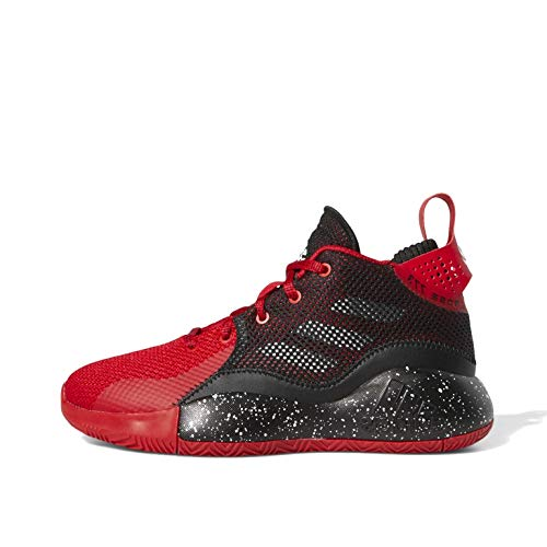 adidas D Rose 773 2020 J, Zapatillas, Escarl/NEGBÁS/FTWBLA, 36 EU