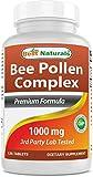 Best Naturals Bee Pollen Complex 1000 mg 120 Tabl