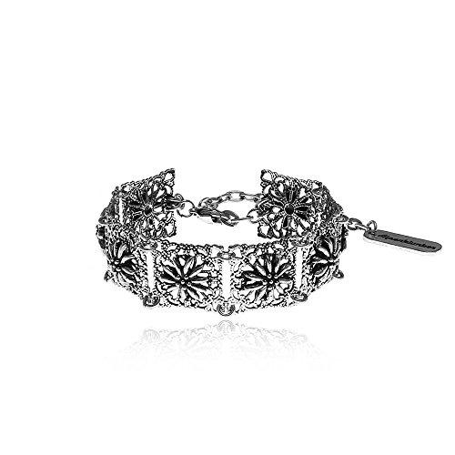 Alpenklunker Bracelet vintage Edelweiss pour costume traditionnel bavarois