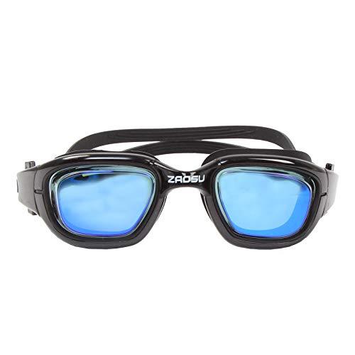 ZAOSU optische Schwimmbrille Blaze Mirror | verspiegelte Schwimmbrille, Sehstärke:-3.0, Farbe:blau