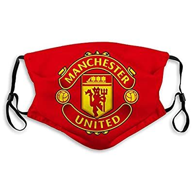 Manchester United Mask Adjustable Anti Dust Outdoor Masks Unisex Reusable Face Cover