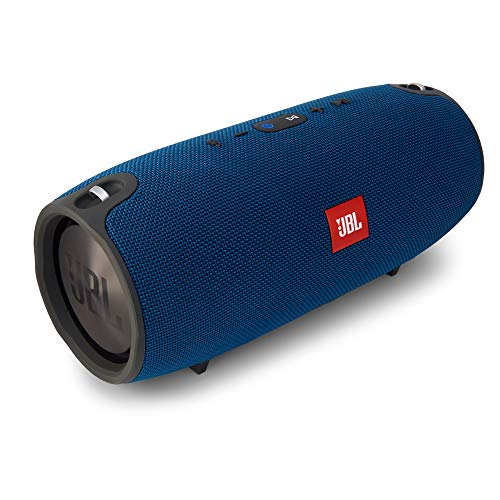 JBL Xtreme - Altavoz Bluetooth portátil (cancelación de ruido y carga USB), Azul