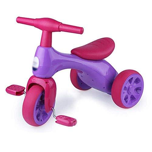 Kids' Fietsen, baby Loopfiets, Driewieler Boy Girl Oefenen Fiets, Jongens Meisjes Trikes for peuter driewielers Baby van de Fiets Trike (Color : Purple)