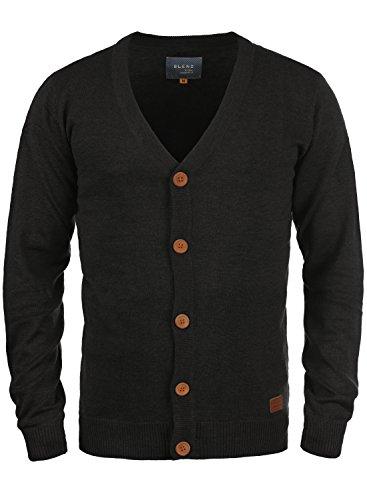 Blend 703656ME Cardigan, Größe:L, Farbe:Black (70155)
