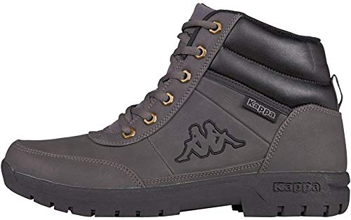 Kappa Unisex-Erwachsene Bright Mid Light 242075-1616 Combat Boots, Grau (1616 Grey), 43 EU