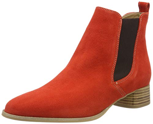 Tamaris Damen 1-1-25337-32 Chelsea Boots, Orange (Sunset 666), 38 EU