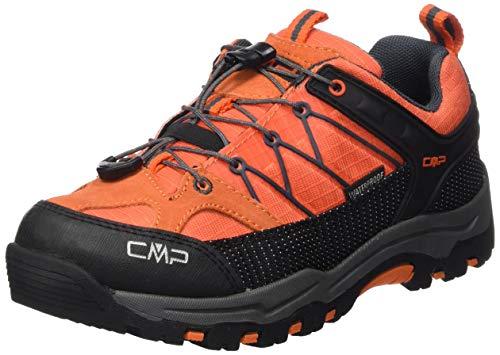 CMP Unisex-Erwachsene Rigel Low Trekking- & Wanderhalbschuhe Orange-Antracite 39cc, 34 EU