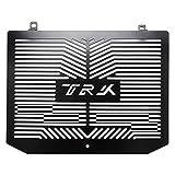 Kamenda Reja de la Parrilla del Radiador del Acero Inoxidable de la Motocicleta Cubierta Protector de Guardia para Trk502 TRK 502 (Negro)