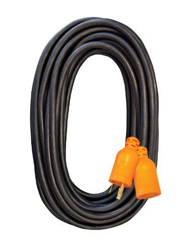 Voltec 05-00231 12/3 SJEOW All-Flex Locking Extension Cord, 100-Foot, Black