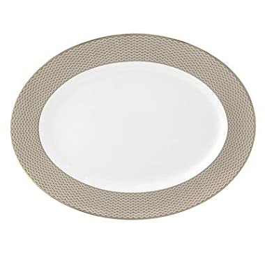 Lismore Diamond Oval Platter