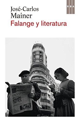 Falange y literatura (OTROS FICCION)