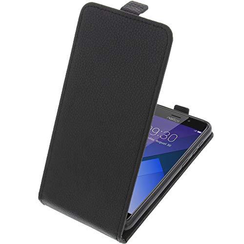 foto-kontor Tasche für TP-Link Neffos C7 Smartphone Flipstyle Schutz Hülle schwarz