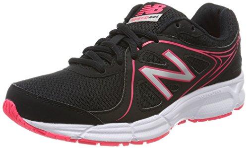 New Balance W390, Zapatillas de Running para Mujer, Negro (Black/Pink), 40.5 EU