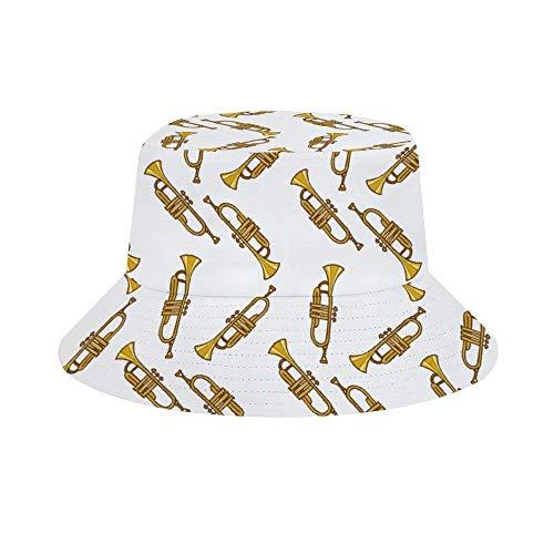 Yuanmeiju Cubo de Sombrero para el Sol Style Men Women Foldable Sombrero de Playa de Pescador Sun Protection Turquoise Glitter