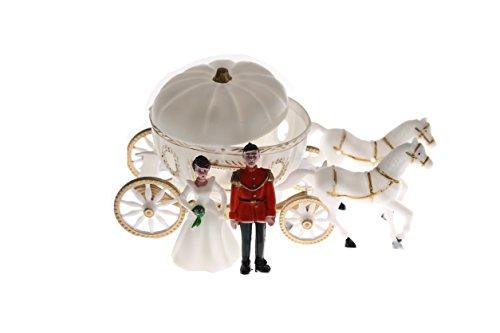 NST 2 Large Cinderella Coach Wedding Carriage Favor Plastic