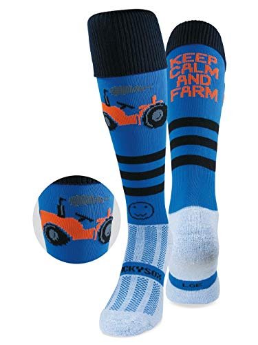 WackySox Keep Calm and Farm - Jnr
