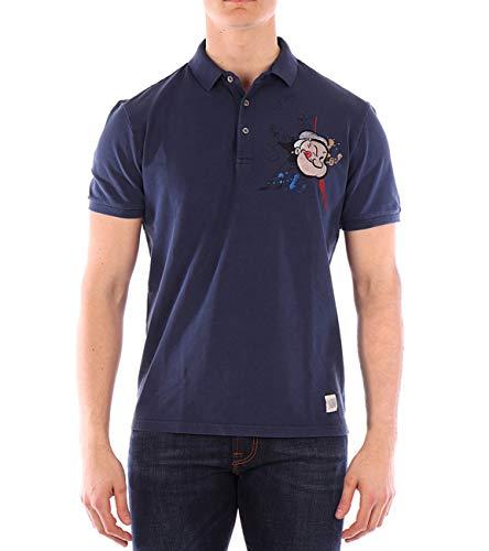 Bob Polo-Shirt Blau Vintage Sailor Dip L.