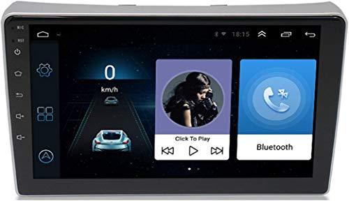 Autoradio Radio De Coche Android 9.1 Navegación GPS Car Reproductor estéreo SWC WiFi FM Radio para Peugeot 307 2007-2013 con Cámara De Visión Trasera