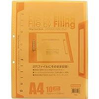 クリアブック FLCB-A4-10COR ×10 セット