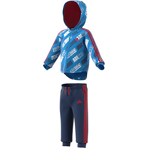 Adidas I Shiny FZ HD J Trainingspak, unisex kinderen