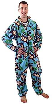 Forever Lazy Adult Onesie - Big Chimpin  - XS