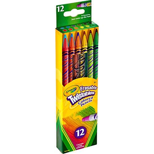 Crayola Erasable Twistables Colored Pencils