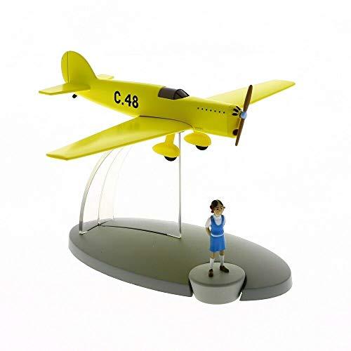 DataPrice Tintin 29566- Avión Prototipo C-48 de Jo,Zette & Jocko . El Testamento de M. Pump. Escala 1:72