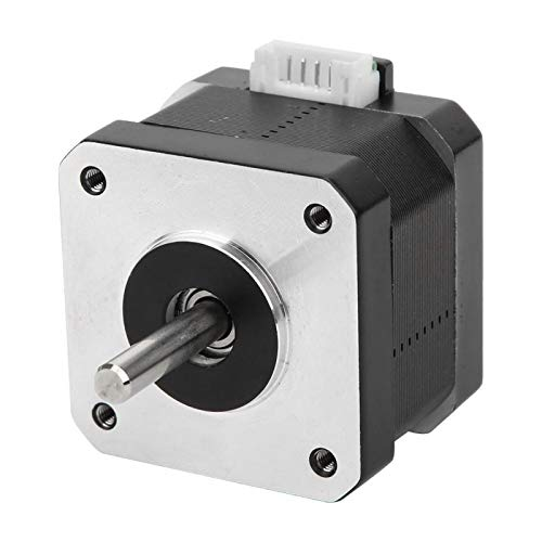 Piezas de Impresora de Motor Paso a Paso eléctrico 17HS3401S tamaño Compacto Resistente para Equipos de monitoreo para maquinaria Textil