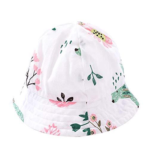 Maoran Enfants Chapeaux de Seau Bonnets Chapeau de Soleil Crème Solaire Plein Air Vacances Temps Chaud Jours pour Tout Petits Enfants Unisexe