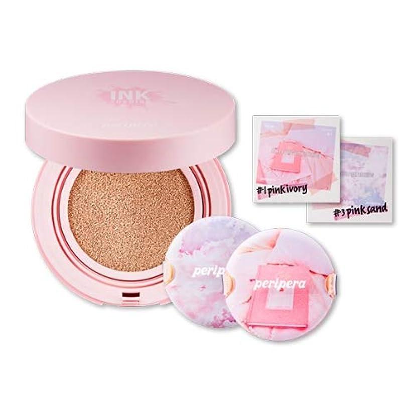 賢いアフリカ人罪Peripera ペリペラ [ピンクの瞬間] インクラスティング ピンク クッション [Pink-Moment] Inklasting Pink Cushion (#1 Pink Ivory) [並行輸入品]