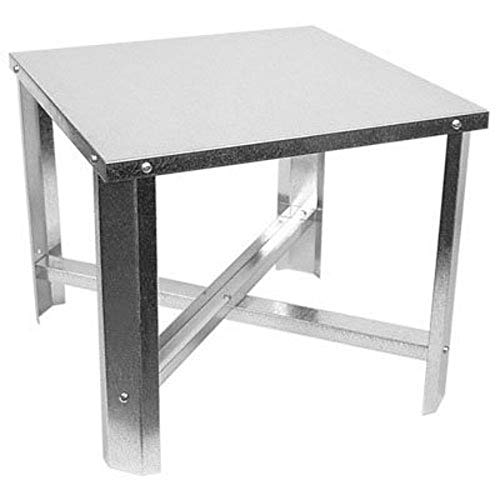 Camco Gas Water Heater Stand Kit - Constructed with 18 Gauge Galvanized Sheet Metal | Holds Up to 50 Gallon Water Heaters with a Diameter of 22' or Less - (11231)